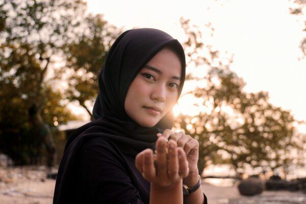 Woman In Black Hijab Scaled